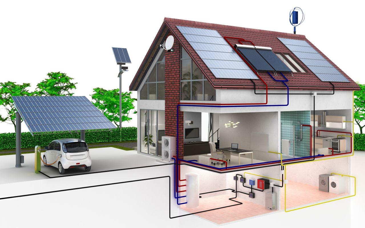 budownictwo-projekt-wizualizacja-dom-pasywny-budynek-dom-panele-fotowoltaiczne-ekologia